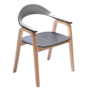 Gia Dining Chair Black - Notbrand