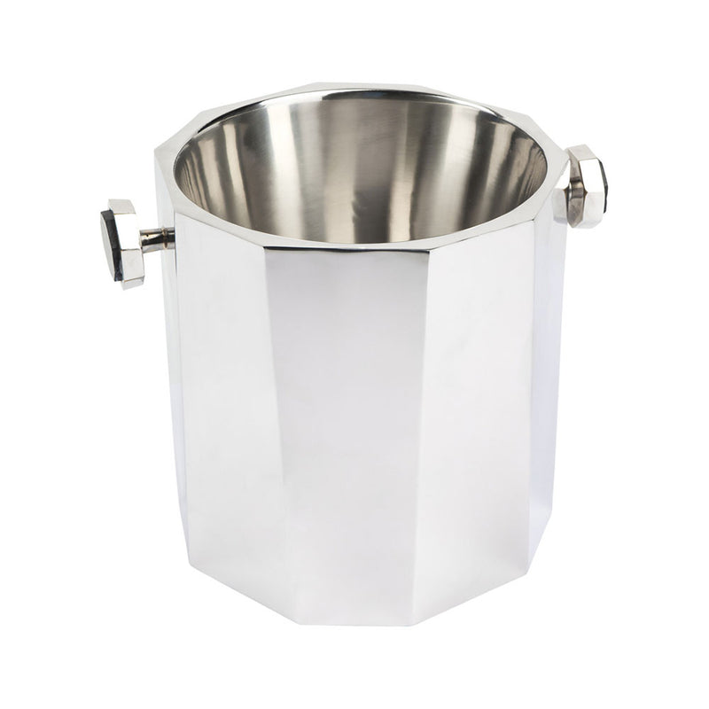 Martinique Marble Handle Metal Ice Bucket - Notbrand