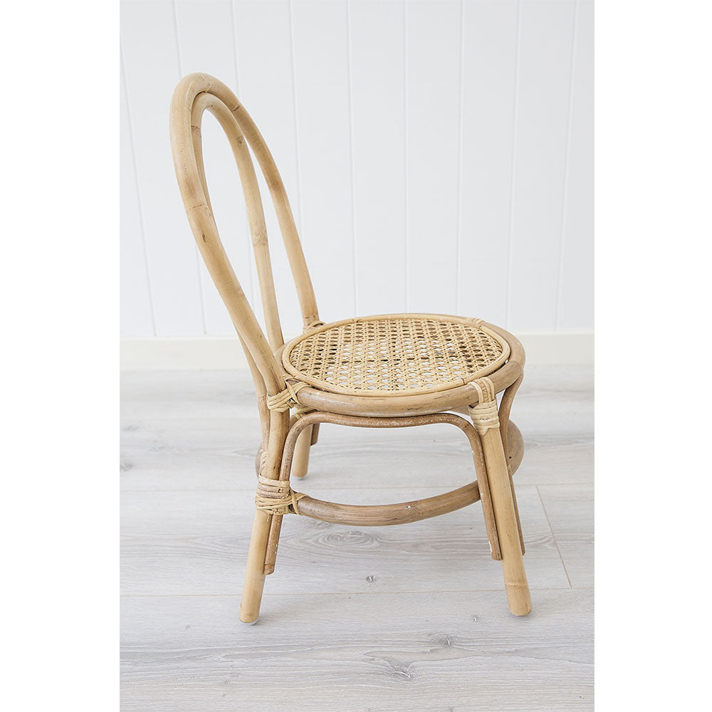 Jessie Rattan Chair Kids – Natural - Notbrand