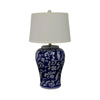 Blossom Ceramic Table Lamp 68cmh - Notbrand