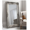 Rayan Ornate Style Mirror Silver - Notbrand