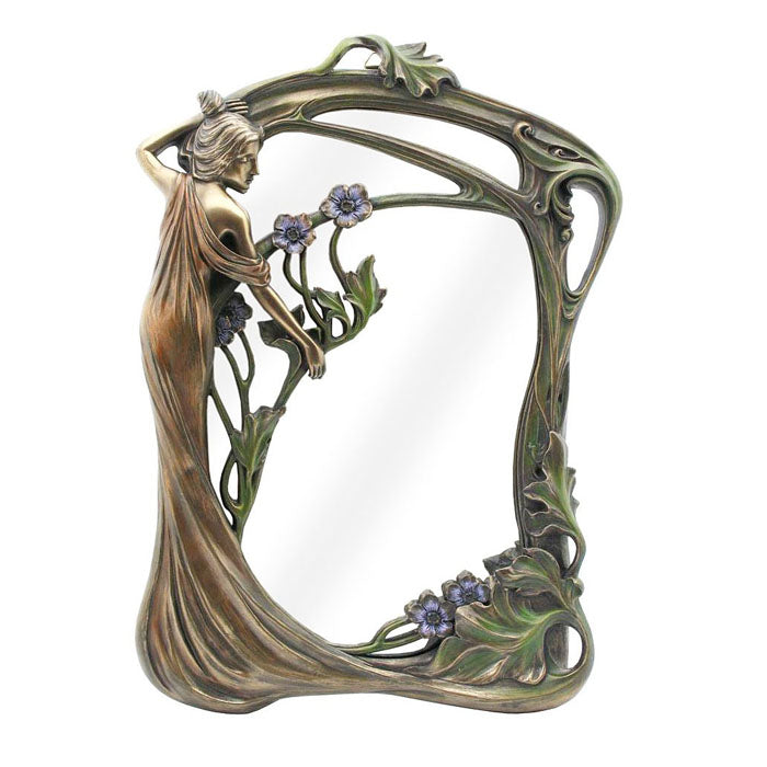 Lady Standing Wall Mirror
