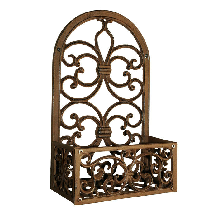Briggs Cast Iron Plant Holder Wall Hanging