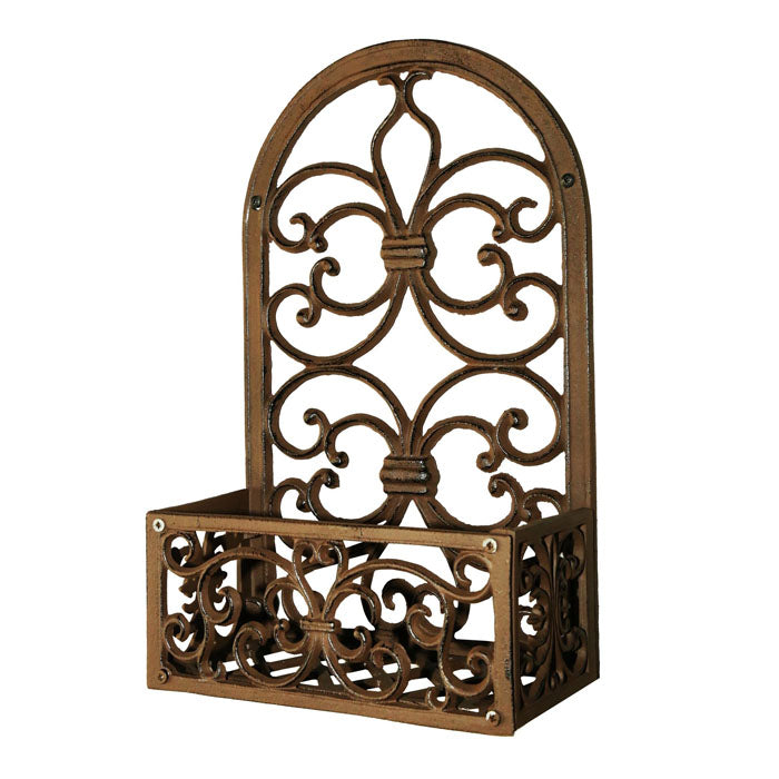 Briggs Cast Iron Plant Holder Wall Hanging - Notbrand