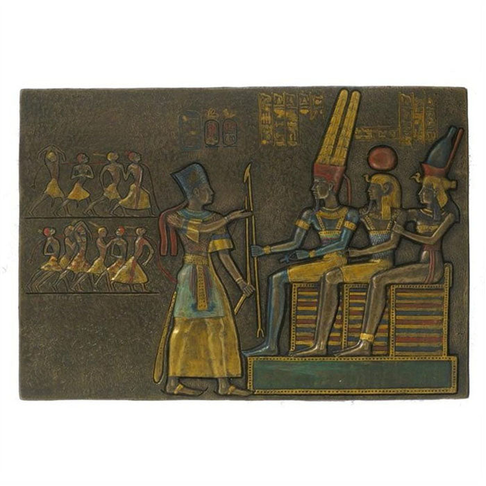 Pharaoh Offering Prisoners Wall Plaque - Notbrand