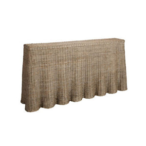 Willow Rattan Console Table - Notbrand