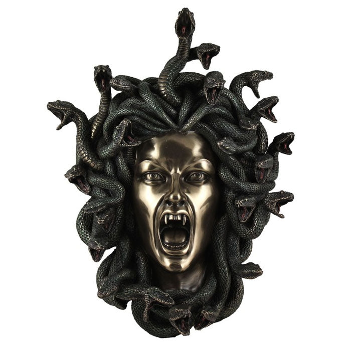 Medusa's Head Wall Hanging