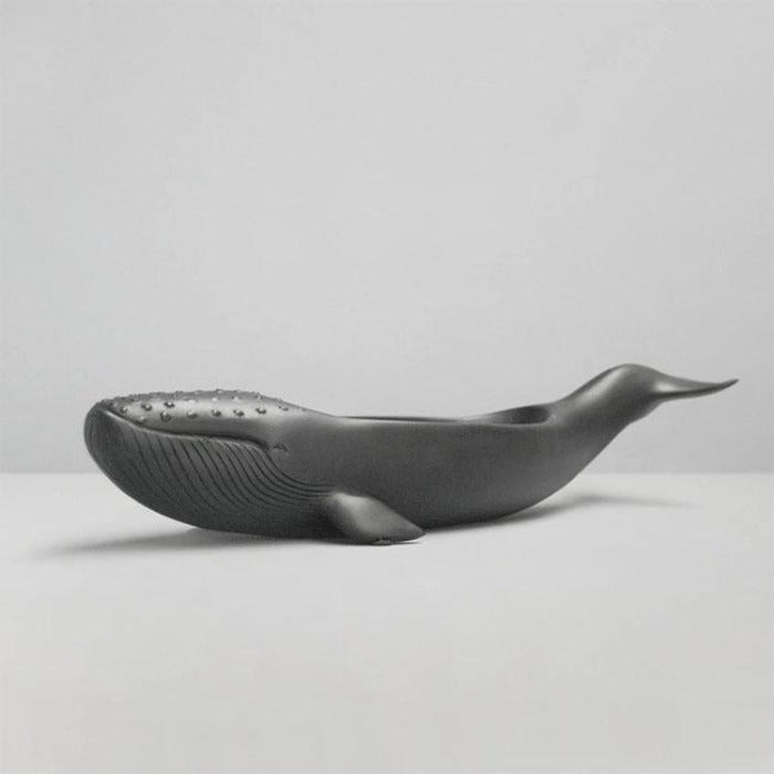 Black Whale Resin Bowl - Notbrand