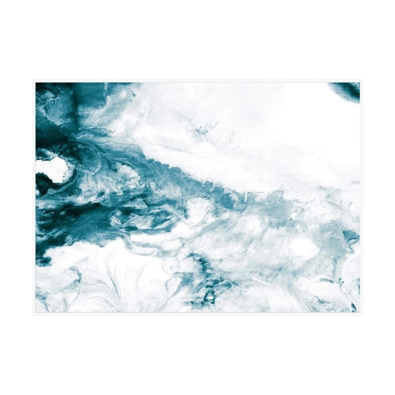 Wild Seas Framed Canvas Wall Art - Notbrand