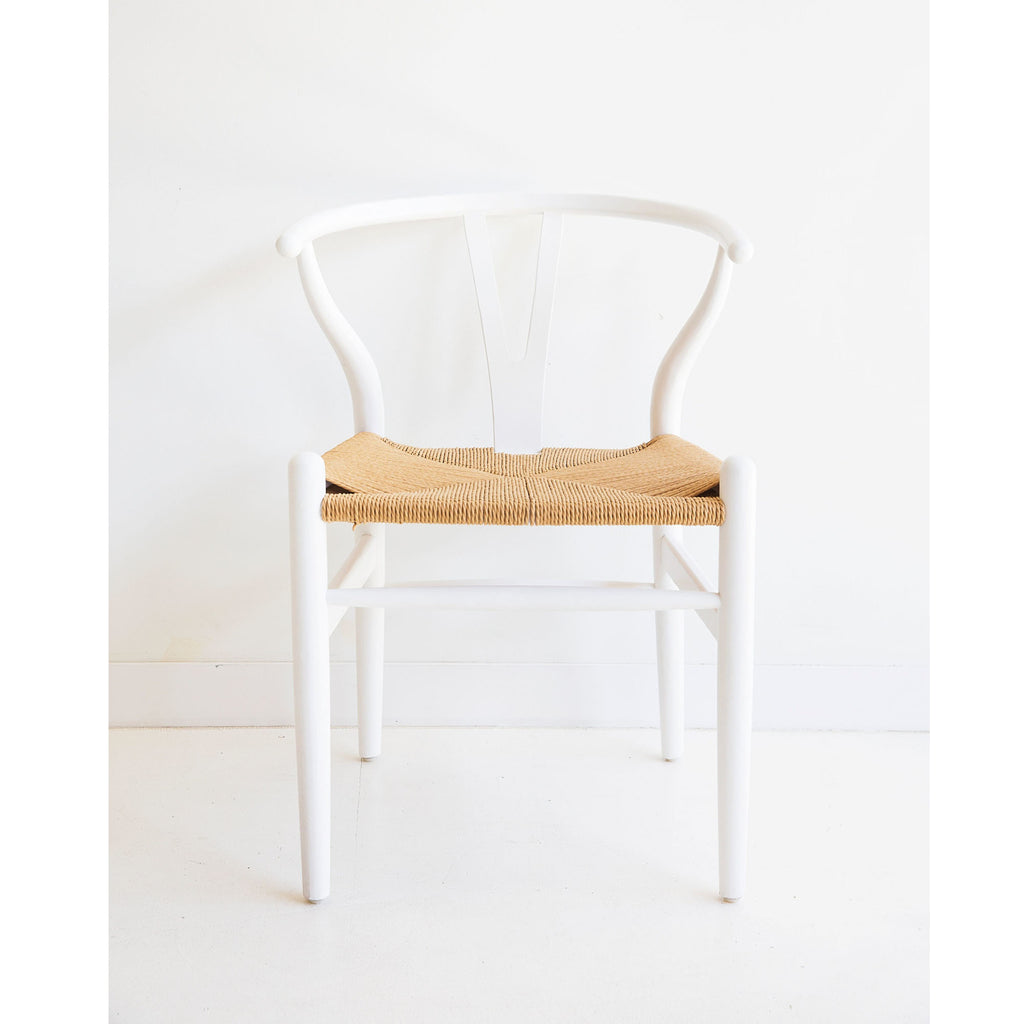 Wishbone Designer Original Replica Chair - Crisp White - Notbrand