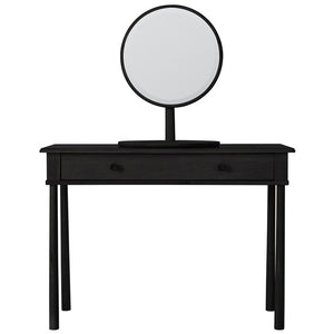 Wycombe Dressing Mirror Black - Notbrand