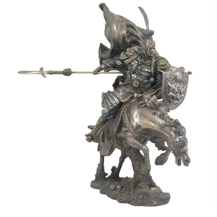 Zhao Yun - Chinese General Bronze Figurine