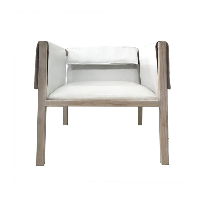 Zayne Occasional Chair Chalk - Notbrand