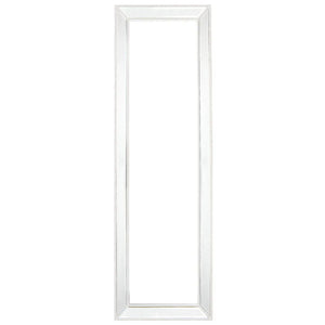 Zeta Cheval Mirror - White - Notbrand