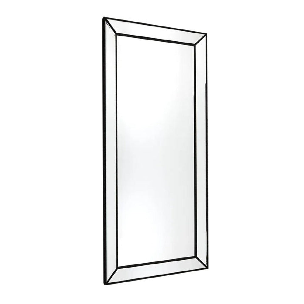 Zeta Floor Mirror - Black
