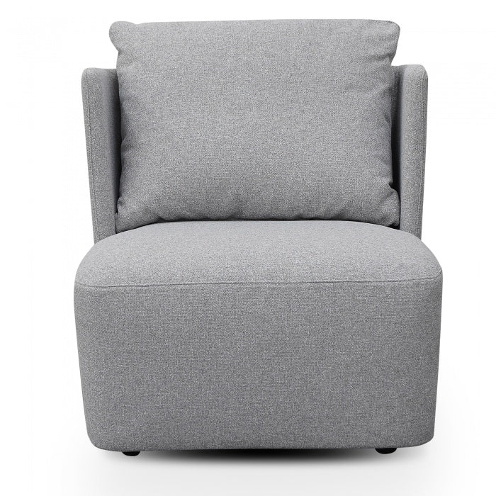 Ramona Armchair - Light Grey - Notbrand
