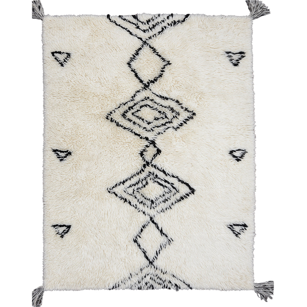 Agadir New Zealand Shaggy Berber Wool Rug