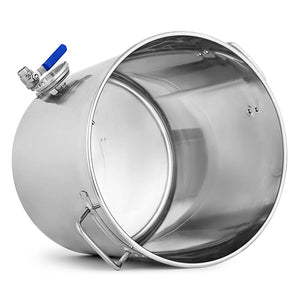 Stainless Steel Brewery Pot with Beer Valve - 33L - Notbrand