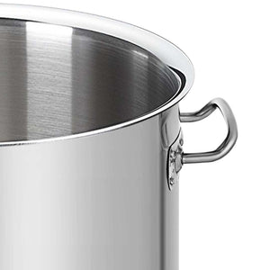 Stainless Steel Brewery Pot w/o Lid - 130L - Notbrand
