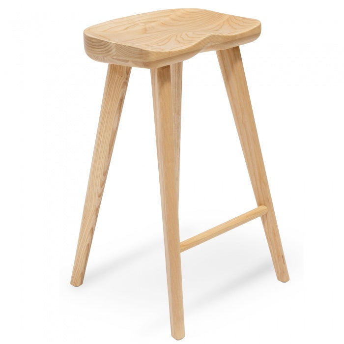 Nathan Bar Stool - Natural - Notbrand
