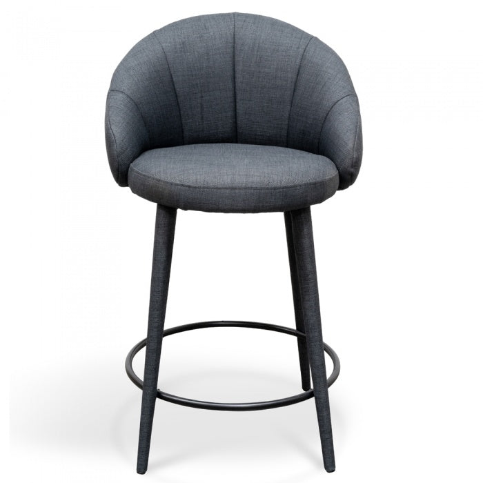 Ryan Bar Stool - Slate Grey - Notbrand