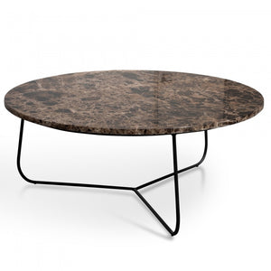 Donnie Brown Marble Top Coffee Table - Notbrand