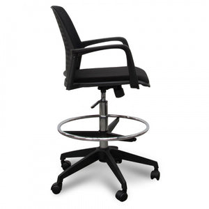 Drafting Office Chair - Black - Notbrand