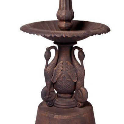 Ibis Cast Iron Garden Fountain