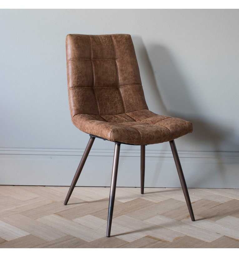 Abner Brown Chair (Set of 2)
