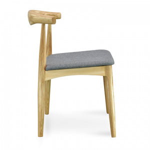 Elbow Dining Chair CH20 Hans Wegner Premium Replica - Natural - Notbrand