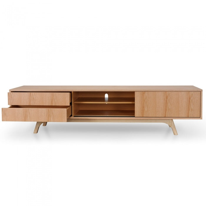 Doma Classic Entertainment TV Unit - Natural - Notbrand