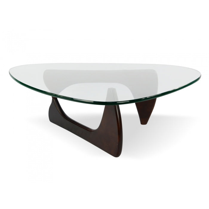 Isamu Noguchi Platinum Replica Coffee Table Dark Walnut - Notbrand