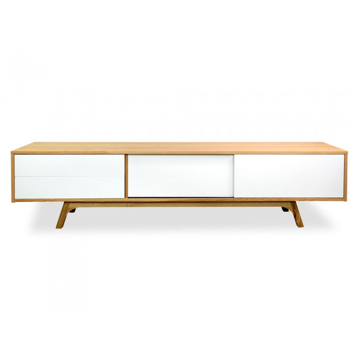 Volito Entertainment TV Unit - Natural - Notbrand