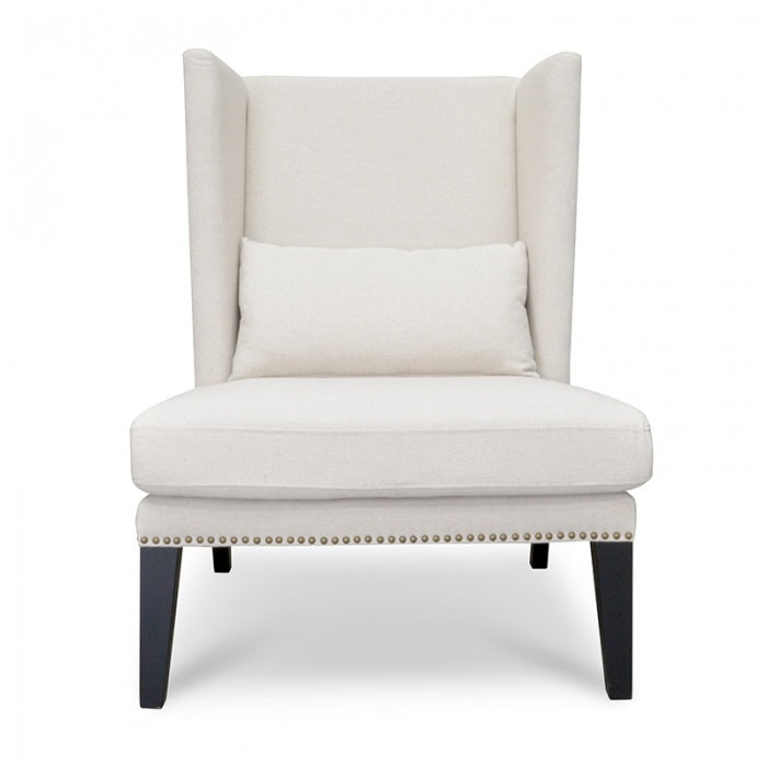 Johnson Lounge Chair in Classic Cream - Notbrand