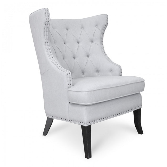 Thomson Chesterfield Armchair Grey - Notbrand
