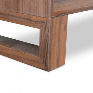 Liam Bedside Table - Walnut - Notbrand