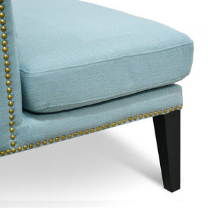 Johnson Lounge Chair - Teal - Notbrand