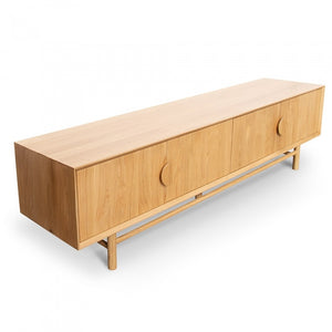 Mira Retro Entertainment TV Unit - Natural - Notbrand