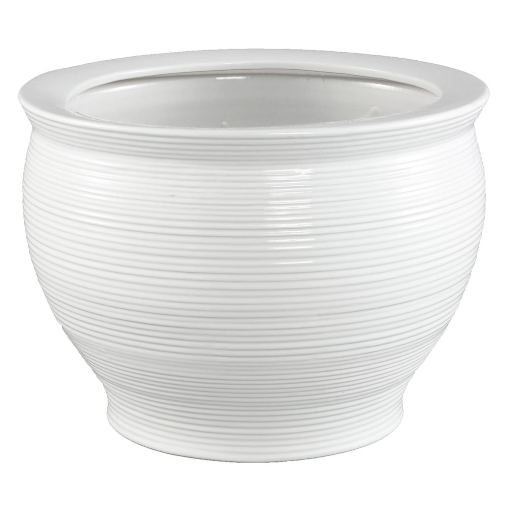 Salvador Planter - White - Notbrand