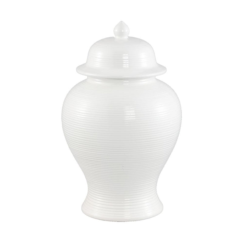 Salvador White Temple Jar Range - Notbrand
