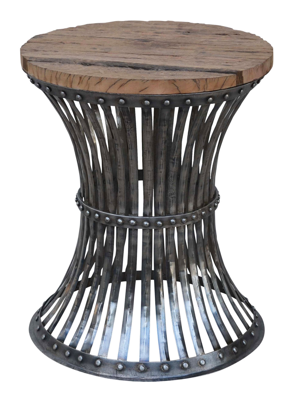 Handmade Rustic Inverted Stool - Notbrand