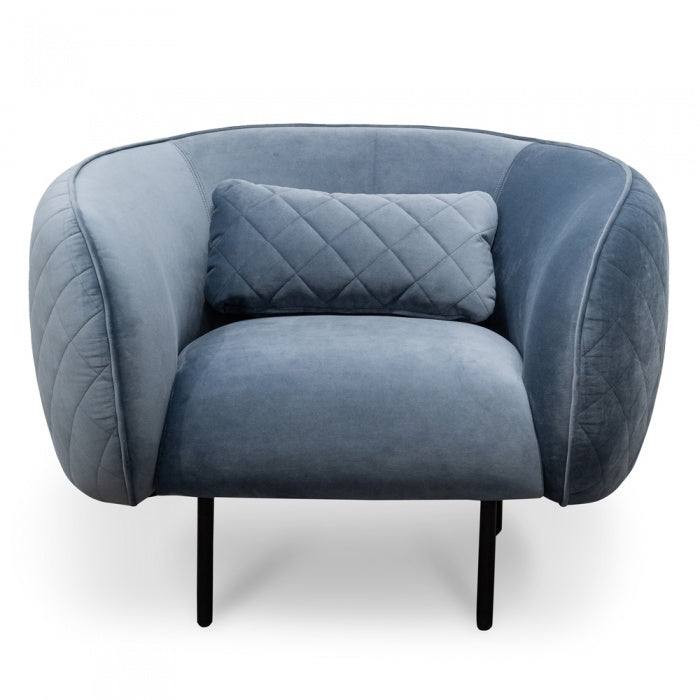 Alia Armchair - Dust Blue - Notbrand