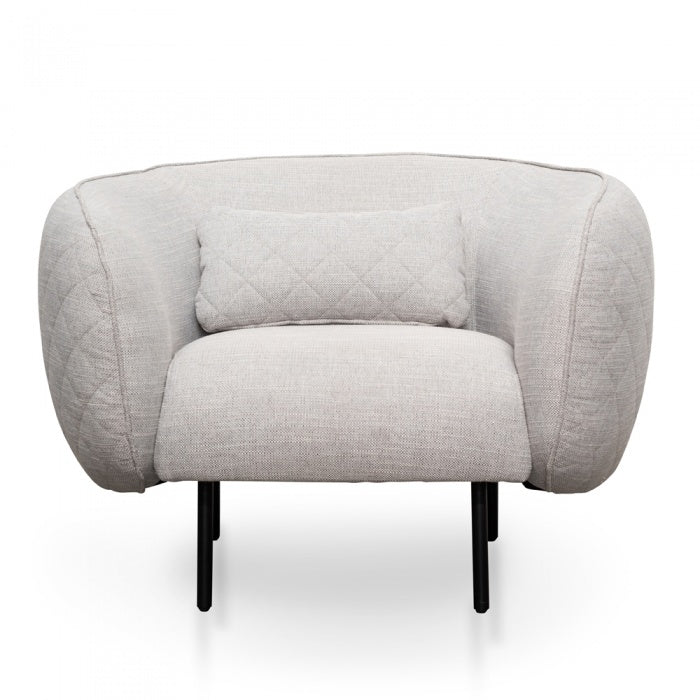 Alia Armchair - Light Texture Grey - Notbrand