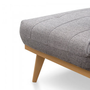 Evan 3 Seater Sofa Bed - Cloudy Grey - Notbrand