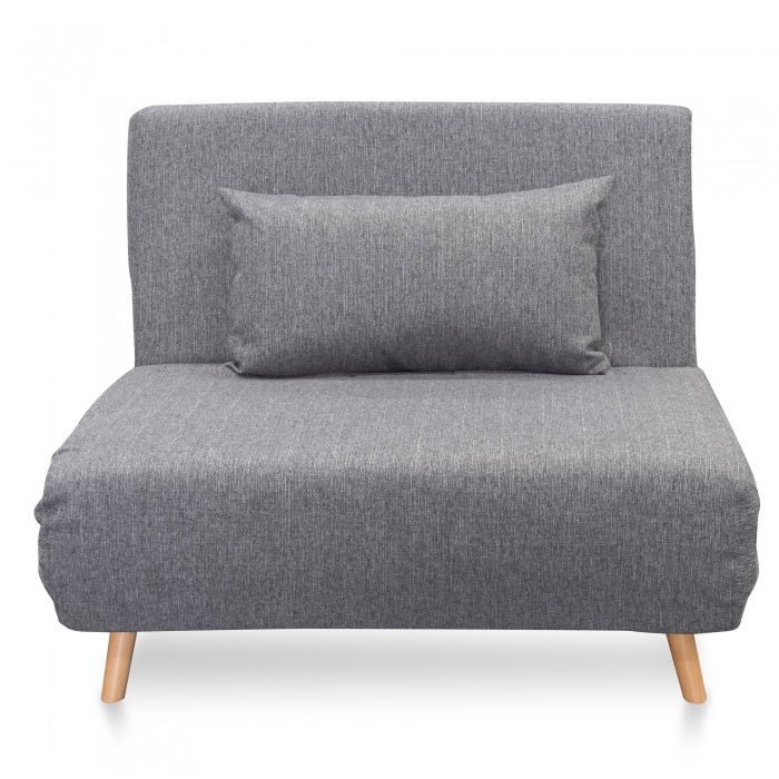 Pamela Single Seater Sofa Bed - Cloudy Grey - Notbrand