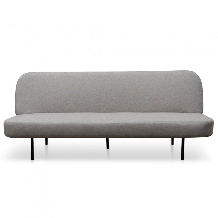 Leo 3 Seater Sofa Bed - Light Grey - Notbrand