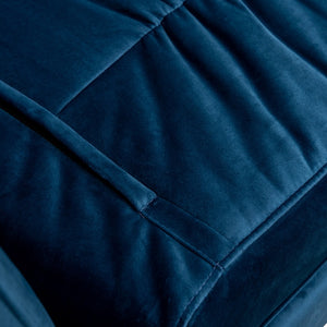 Zion Sofa Bed - Azure Blue - Notbrand
