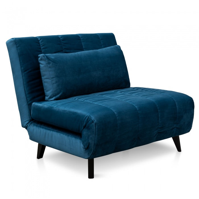 Zion Sofa Bed - Azure Blue
