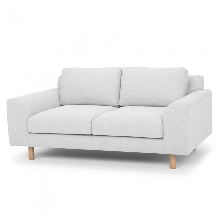 Maverick 2 Seater Sofa - Light Texture Grey - Notbrand
