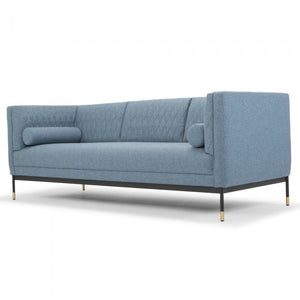 Hannah 3 Seater Sofa - Denim - Notbrand